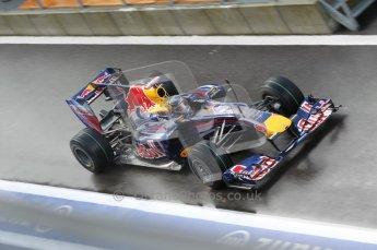 © Octane Photographic 2010. 2010 F1 Belgian Grand Prix, Friday August 27th 2010. Red Bull RB6 - Sebastian Vettel. Digital Ref : 0030CB1D0775