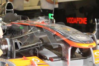 © Octane Photographic 2010. 2010 F1 Belgian Grand Prix, Friday August 27th 2010. McLaren MP4/25 - Lewis Hamilton. Digital Ref : 0030CB1D1135