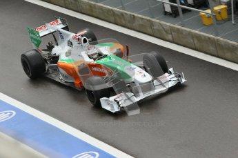 © Octane Photographic 2010. 2010 F1 Belgian Grand Prix, Friday August 27th 2010. Digital Ref : 0030CB1D1382