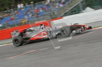 © Octane Photographic 2010. 2010 F1 Belgian Grand Prix, Friday August 27th 2010. Digital Ref : 0030CB1D2023