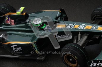 © Octane Photographic 2010. 2010 F1 Belgian Grand Prix, Friday August 27th 2010. Lotus T127 - Heikki Kovalainen. Digital Ref : 0030LW7D0302