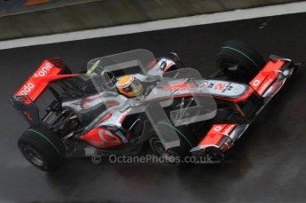 © Octane Photographic 2010. 2010 F1 Belgian Grand Prix, Friday August 27th 2010. McLaren MP4/25 - Lewis Hamilton. Digital Ref : 0030LW7D9642