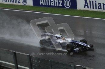 © Octane Photographic 2010. 2010 F1 Belgian Grand Prix, Friday August 27th 2010. Williams FW32 - Nico Hulkenberg. Digital Ref : 0030LW7D9693