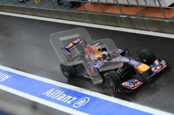 © Octane Photographic 2010. 2010 F1 Belgian Grand Prix, Friday August 27th 2010. Red Bull RB6 - Sebastian Vettel. Digital Ref : 0030LW7D9851