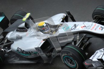 © Octane Photographic 2010. 2010 F1 Belgian Grand Prix, Friday August 27th 2010. Mercedes MGP W01 - Nico Rosberg. Digital Ref : 0030LW7D9883