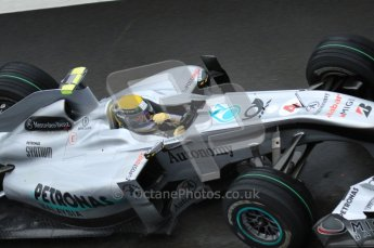 © Octane Photographic 2010. 2010 F1 Belgian Grand Prix, Friday August 27th 2010. Mercedes MGP W01 - Nico Rosberg. Digital Ref : 0030LW7D9885