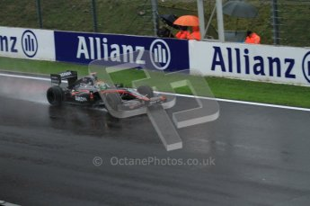 © Octane Photographic 2010. 2010 F1 Belgian Grand Prix, Friday August 27th 2010. Hispania F110 - Sakon Yamamoto. Digital Ref : 0030LW7D9891