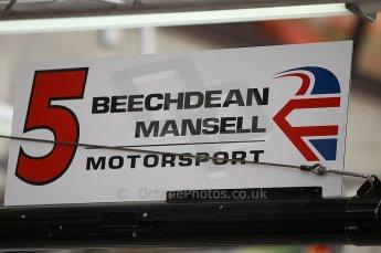 2010 Le Mans 24 Hour (24 Heures du Mans), 11th June 2010. Beechdeen Mansell garage. Digital ref : CB1D2147