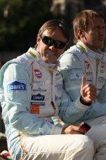 2010 Le Mans 24 Hour (24 Heures du Mans), 11th June 2010. Drivers' parade. Aston Martin Racing - Adrian Fernandez. Digital ref : CB1D2492