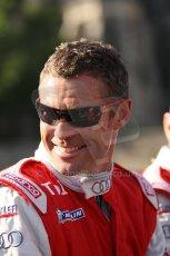 2010 Le Mans 24 Hour (24 Heures du Mans), 11th June 2010. Drivers' parade. Audi Sport Team Joest - Tom Kristensen. Digital ref : CB1D2559