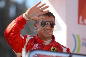 2010 Le Mans 24 Hour (24 Heures du Mans), 11th June 2010. Drivers' parade. AF Corse SRL - Jean Alesi. Digital ref : CB1D2686