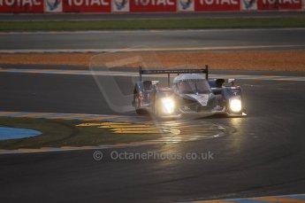 2010 Le Mans, Sunday June 13th 2010. Dunlop Chicane at dawn. Digital Ref : CB1D5014