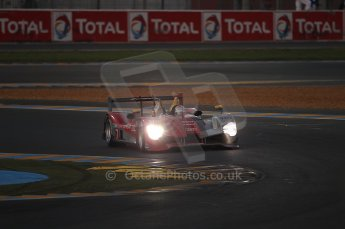2010 Le Mans, Sunday June 13th 2010. Dunlop Chicane at dawn. Digital Ref : CB1D5053