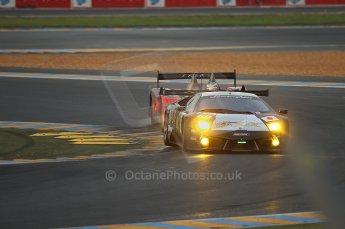 2010 Le Mans, Sunday June 13th 2010. Dunlop Chicane at dawn. Digital Ref : CB1D5080