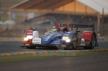 2010 Le Mans, Sunday June 13th 2010. Dunlop Chicane at dawn. Digital Ref : CB1D5254