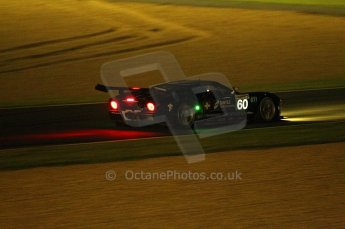 2010 Le Mans, Saturday June 12th 2010. Chapelle/Tertre Rouge at night. Matech Racing - Thimas Mutsch, Romain Grosjean, Jonathan Hirschi. Digital Ref : CB1D4701