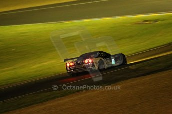 2010 Le Mans, Saturday June 12th 2010. Chapelle/Tertre Rouge at night. Digital Ref : CB1D4837
