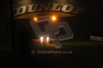 2010 Le Mans, Sunday June 13th 2010. Dunlop Bridge at night. Digital Ref : CB1D4919