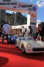 2010 Le Mans 24 Hour (24 Heures du Mans), 11th June 2010. Drivers' parade. Digital ref : CB5D3397