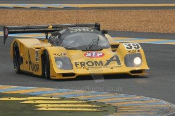 2010 Le Mans Group.C support race, Saturday June 12th 2010. Dunlop Chichane. Digital ref : LW40D3326