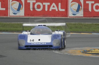 2010 Le Mans Group.C support race. Dunlop Chichane. Digital Ref : LW40D3463