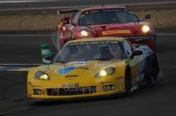 2010 Le Mans, Saturday June 12th 2010. Arnage Corner. Digital Ref : LW40D5027