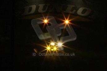 2010 Le Mans, Sunday June 13th 2010. Dunlop Bridge at night. Digital Ref : LW40D5335