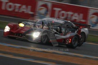 2010 Le Mans, Sunday June 13th 2010. Dunlop Chicane at dawn. Digital Ref : LW40D5475