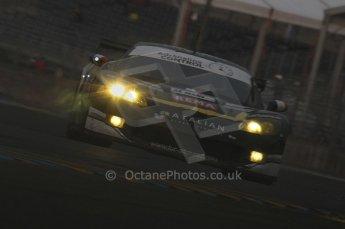 2010 Le Mans, Sunday June 13th 2010. Dunlop Chicane at dawn. Digital Ref : LW40D5603