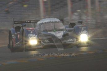 2010 Le Mans, Sunday June 13th 2010. Dunlop Chicane at dawn. Digital Ref : LW40D5611