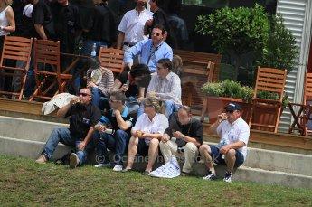 2010 Le Mans, Sunday June 13th 2010. Fans. Digital Ref : CB7D5742