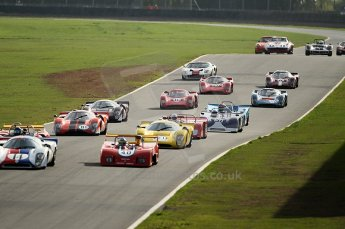 © Octane Photographic Ltd. 2010 Masters Racing - Donington September 4th 2010. World Sportscar Masters rolling start. Digital Ref : cb1d2209