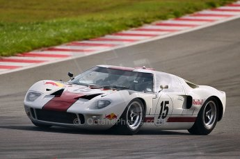 © Octane Photographic Ltd. 2010 Masters Racing - Donington September 4th 2010. World Sportscar Masters, Ford GT40 Mk.I - Adrian Newey. Digital Ref : cb1d2239