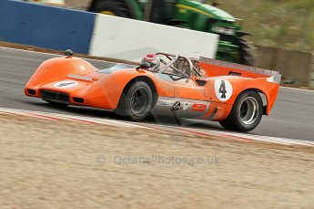 © Octane Photographic Ltd. 2010 Masters Racing - Donington September 4th 2010. Interserie Revival. McLaren M6B - Anthony Taylor. Digital Ref : cb1d2764