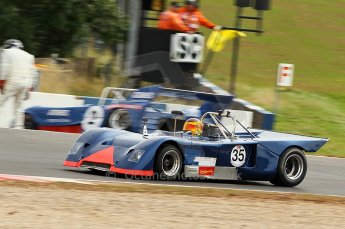 © Octane Photographic Ltd. 2010 Masters Racing - Donington September 4th 2010. Interserie Revival. Chevron B19. Digital Ref : cb1d2791