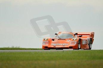 © Octane Photographic Ltd. 2010 Masters Racing - Donington September 5th 2010. Demo runs - Porsche 956/962. Digital Ref : cb1d4361