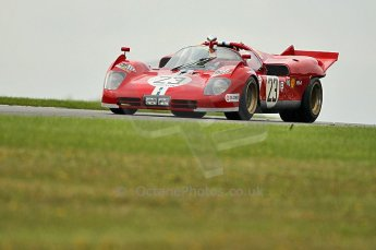 © Octane Photographic Ltd. 2010 Masters Racing - Donington September 5th 2010.Demo runs - Ferrari 512S Digital Ref : cb1d4381