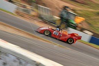 © Octane Photographic Ltd. 2010 Masters Racing - Donington September 4th 2010. World Sportscar Masters. Abarth PA01 - John Crowson/Richard Evans. Digital Ref :CB7D5121