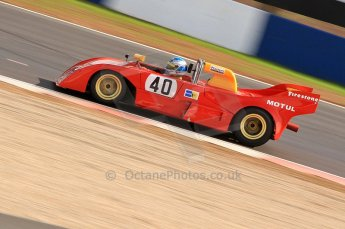 © Octane Photographic Ltd. 2010 Masters Racing - Donington September 4th 2010. World Sportscar Masters. Abarth PA01 - John Crowson/Richard Evans. Digital Ref :CB7D5121