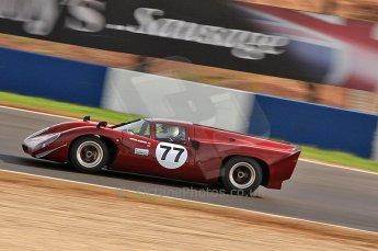 © Octane Photographic Ltd. 2010 Masters Racing - Donington September 4th 2010. World Sportscar Masters. Lola T70 Mk.3b - Justin Maeers. Digital Ref :CB7D5121