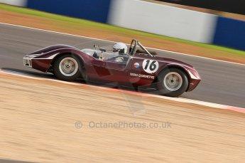 © Octane Photographic Ltd. 2010 Masters Racing - Donington September 4th 2010. World Sportscar Masters. Tero Corvette. Digital Ref :CB7D5121