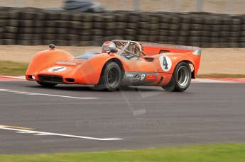 © Octane Photographic Ltd. 2010 Masters Racing - Donington September 4th 2010. Interserie Revival. McLaren M6B - Anthony Taylor. Digital ref : CB7D5532