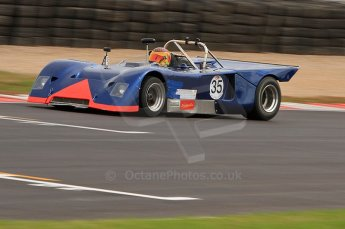 © Octane Photographic Ltd. 2010 Masters Racing - Donington September 4th 2010. Interserie Revival. Chevrom B19 - Sandy Watson. Digital ref : CB7D5532