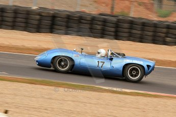 © Octane Photographic Ltd. 2010 Masters Racing - Donington September 4th 2010. Sports Racing Masters. Lola T70 Mk.I spyder - Howard Jones/Nick Adams. Digital Ref : CB7D6216