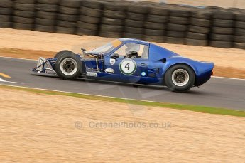 © Octane Photographic Ltd. 2010 Masters Racing - Donington September 4th 2010. Sports Racing Masters. Chevron B8 - Sandy Watson. Digital Ref : CB7D6225