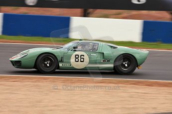 © Octane Photographic Ltd. 2010 Masters Racing - Donington September 4th 2010. Sports Racing Masters. Ford GT40 Mk.I - David Foresby/Andrew Newall. Digital Ref : CB5D9957