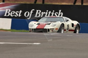 © Octane Photographic Ltd. 2010 Masters Racing - Donington September 4th 2010. Sports Racing Masters. Ford GT40 Mk.I - Adrian Newey. Digital Ref : CB5D9980