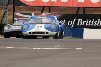 © Octane Photographic Ltd. 2010 Masters Racing - Donington September 4th 2010. Sports Racing Masters. Chevron B8 - Steve Hodges. Digital Ref : CB5D9992