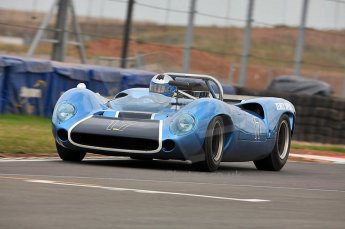 © Octane Photographic Ltd. 2010 Masters Racing - Donington September 4th 2010. Sports Racing Masters. Lola T70 Mk.I Spyder - Howard Jones/Nick Adams. Digital Ref : CB5D9995