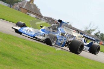 World © Octane Photographic 2010. 2010 Donington Revived! meeting, September 5th 2010. MastersGP - Historic Formula 1, Historic F1. March 721 - Rudolf Ernst. Digital ref : 0029CB7D7295